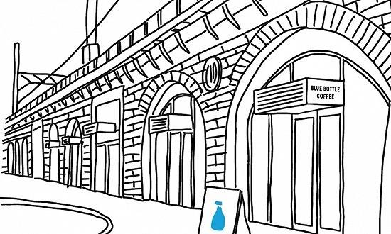 精品咖啡Blue Bottle将在东京开出全球首家迷你门店,主营外带生意