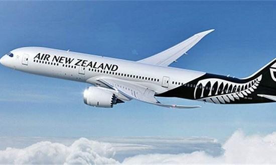 因无落地许可飞上海航班中途返航,新西兰航空致歉