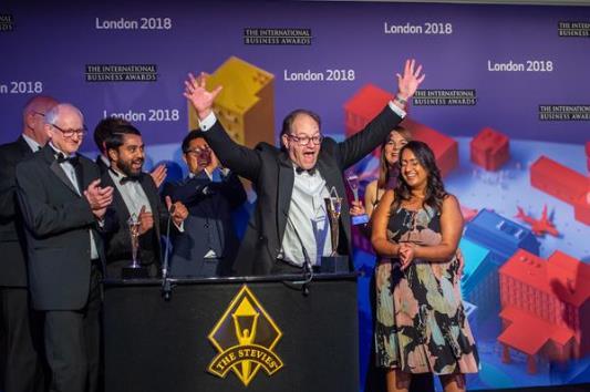 Stevie Awards宣布2019年IBA杰出奖得主
