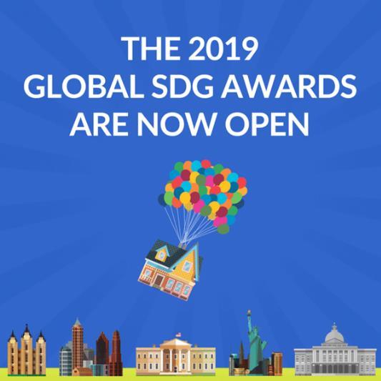 Global SDG Awards在2019年启动第二届年度比赛